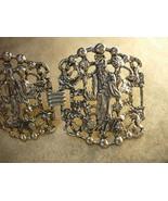 VIntage Chinese Emperor Bracelet HUGE oriental links - $235.00