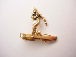Vintage Walking Man Tie Clip Stop in the Name of Love Signed Hickok - $45.00