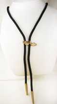 Michigan Earth Mover Bolo Tie Vintage Gold Filled Birthday Rodeo Rancher... - $55.00