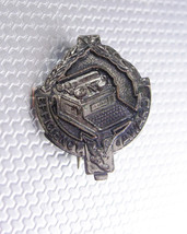 Vintage Typewriter brooch efficiency award BB company secretary writer pin - $35.00