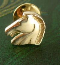 Classic Horse Head Tie Tack Lapel Pin Knight Ch... - $45.00