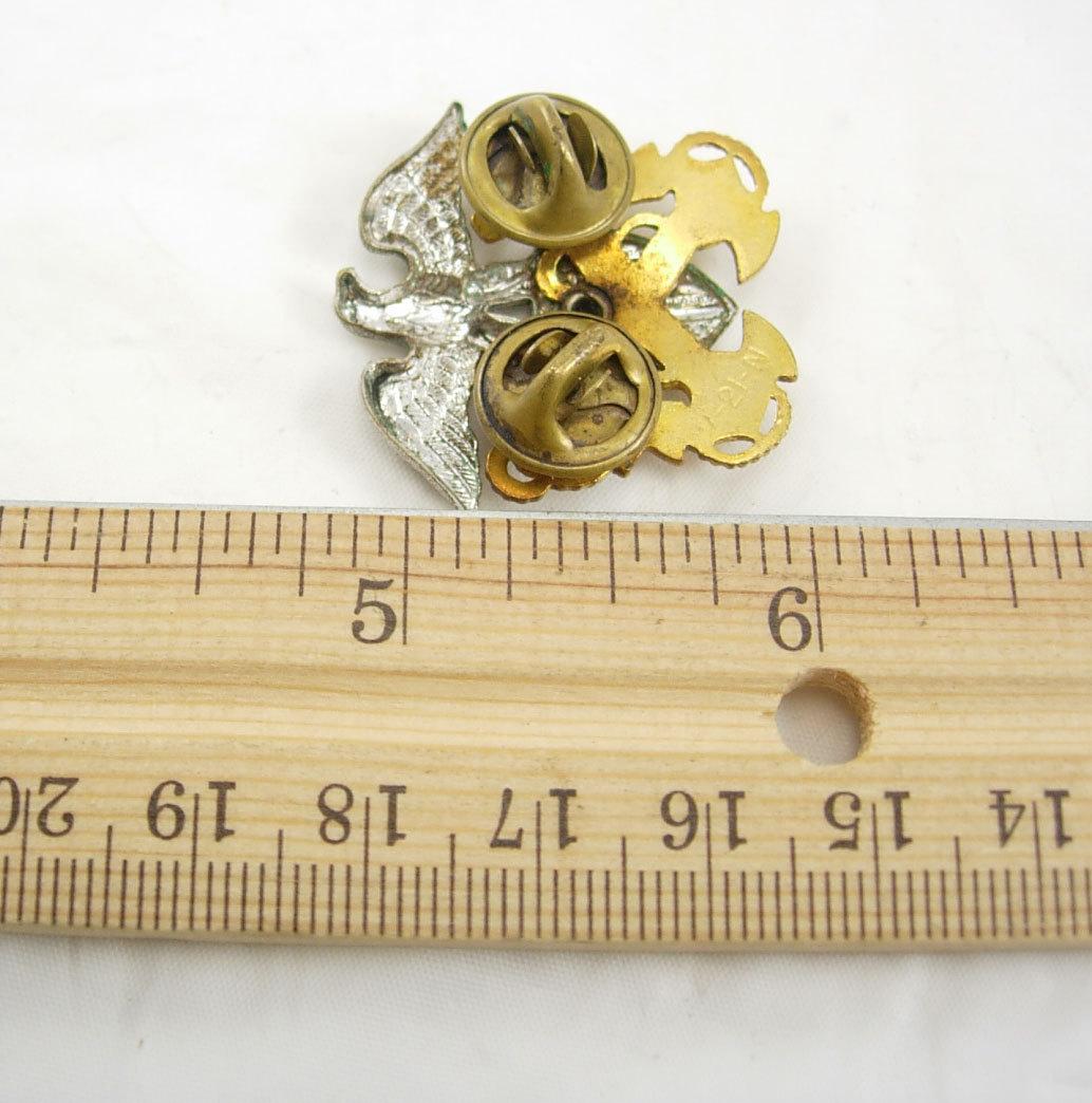 Navy Hat Pins: Large Vintage US Navy Tie Tac Hat Pin Lapel Pin Military