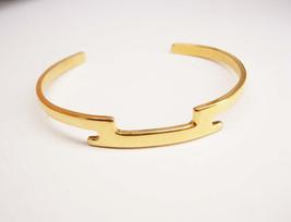 Vintage Modernist Cuff Bracelet Wedding Anniversary - $20.00