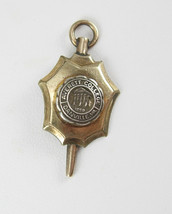 Vintage Key Fob Charm Averett College Danville VA Gold Over Silver Birth... - $70.00