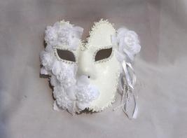 Venetian Goddess Masquerade Mask with High Fashion Macrame Lace & Diamonds mk43 - $29.99