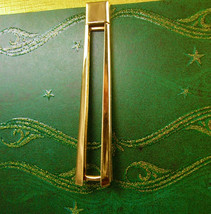 Extra Large Swank Vintage Tie Clip Open Cut for Tie Visibility Men's Big... - $50.00