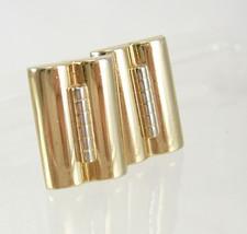 Vintage Art Deco Goldtone Cufflinks Industrial Birthday Wedding Business... - $50.00
