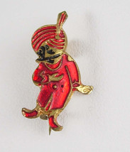 Excel Hand Crafted GENIE Pin Vintage Brooch Aladdin Signed Quality Jewelry - $40.00