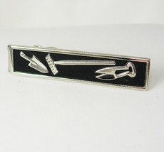 Swank Do It Yourself Tie Clip Vintage Gardener Farmer Property Maintenan... - $65.00