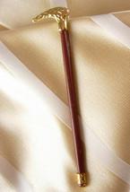 Antique Victorian STAFF SCEPTER Tie Clip Walking Cane City Stick Broadway Nightl - $165.00