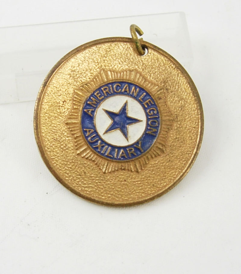 Primary image for Vintage American Legion Auxiliary Medal Badge Pendant Birthday Collectors Retire