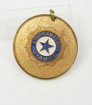 Vintage American Legion Auxiliary Medal Badge Pendant Birthday Collector... - $40.00