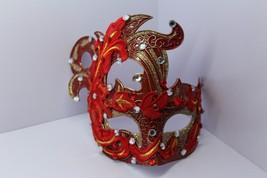 Venetian Goddess Masquerade Mask with High Fashion Lace & Diamonds mk60 - $29.99