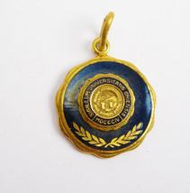 Ohio University Seal Pendant Sigillum Universitatis Ohiensis Blue Enamel... - $50.00
