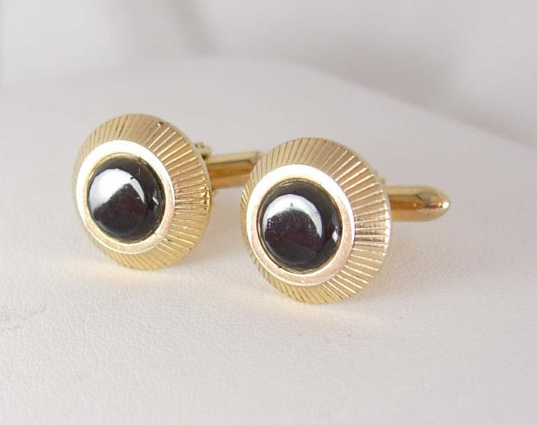 Swank black onyx cufflinks vintage mens women 39 s fine for What is swank jewelry