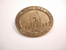 Vintage WW11 Memorial Tie Tac Pin Dedication Tribute Generation - $45.00