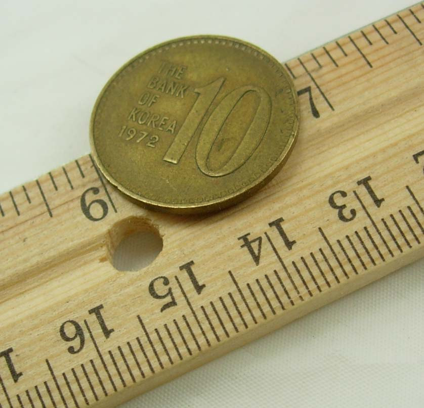 Vintage Bank Korea Coin Destash Ten Won Asian Collectors 1972