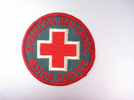 American Red Cross Motor Service Patch Vintage Birthday - $45.00