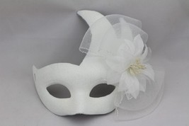 enetian Goddess Masquerade Mask with High Fashion lace flower mk68 - $19.99