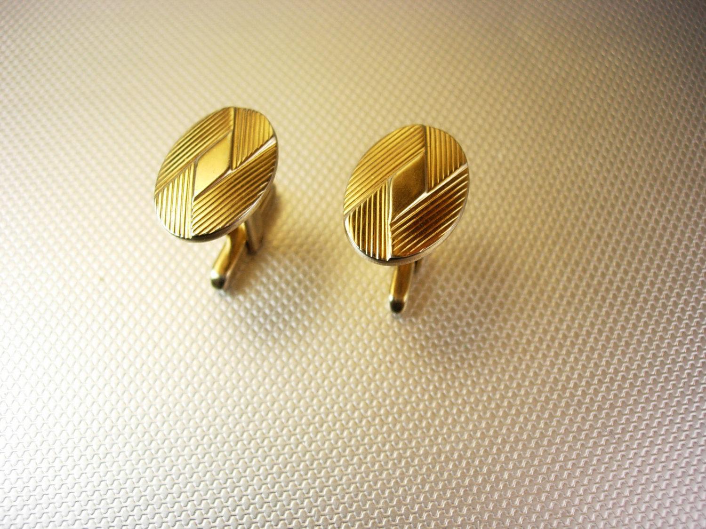 art deco engravable cufflinks vintage gold filled hickok usa designer cufflinks. Black Bedroom Furniture Sets. Home Design Ideas