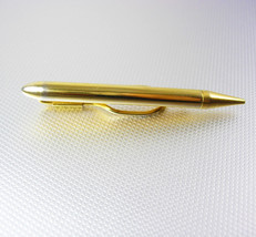 Mechanical Lead Pencil Tie Clip Vintage Gold Filled Works Office Manager... - $60.00