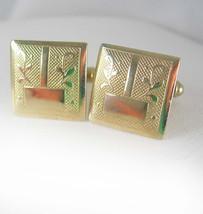 SALE! Classic Signet textured Cufflinks Vintage Engravable Men's Women's... - $35.00