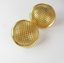 Sarah Coventry Microphone Topped Earrings Vintage Clip On designer Women... - $35.00