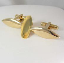 Torpedo Gold Filled Cufflinks Free Petite Vintage Tie Clip Cufflink Set ... - $50.00