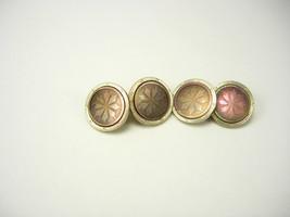Vintage Art Deco Cufflinks Carved Etched Abalone Wedding Birthday Busine... - $75.00