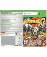 Borderlands 2 xbox 360/ONE game Full download card code [digital] (US) (CA) - $13.77