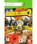 Borderlands 2 xbox 360/ONE game Full download card code [digital] (UK) (... - $13.77