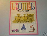 1965  LIONEL CATALOG MINT/UNCIRCULATED