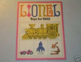 1965  LIONEL CATALOG MINT/UNCIRCULATED - $11.99
