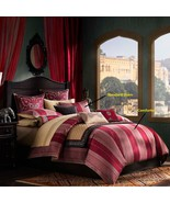 Artology Sari Mini 3pcs. Comforter Set, King, Red - $325.00