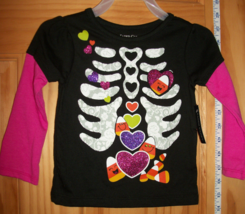Faded Glory Baby Clothes 12M Infant Halloween Shirt Top Candy Corn Design Blouse - $9.49