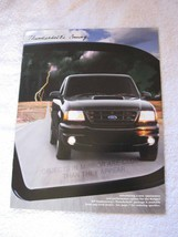FORD RANGER THUNDERBOLT SALES BROCHURE-AVAILABLE THROUGH FORD DEALERS-CO... - $19.31