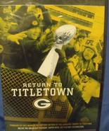 DVD Return to Titletown Green Bay Packers Super Bowl XLV - $12.95