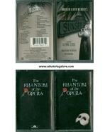 PHANTOM OF THE OPERA + SUNSET BOULEVARD cassette tapes - $5.00