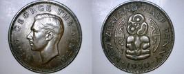 1950 New Zealand Half 1/2 Penny World Coin - $12.99