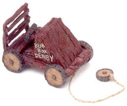 "Boyds Bears Pull Toy -""Bearbox Derby"" - #654250 -2003 - Retired - $16.99"