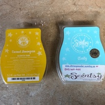 Coconut Lemongrass & Clarity Scentsy Wax Cubes Lot - $24.99