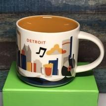 Detroit Michigan Starbucks You Are Here Mug 14 Oz  New - $19.99