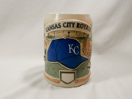 Vintage Sportsteins by Cui Kansas City Royals Pottery Stein MLB - $25.00