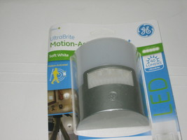 GE 29844 Ultra Brite Motion-Activated LED Light. Silver - $10.99