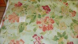 Green Burgundy Gold Print Cotton Upholstery Fabric 1 Yard  F1328 - ₨1,732.95 INR