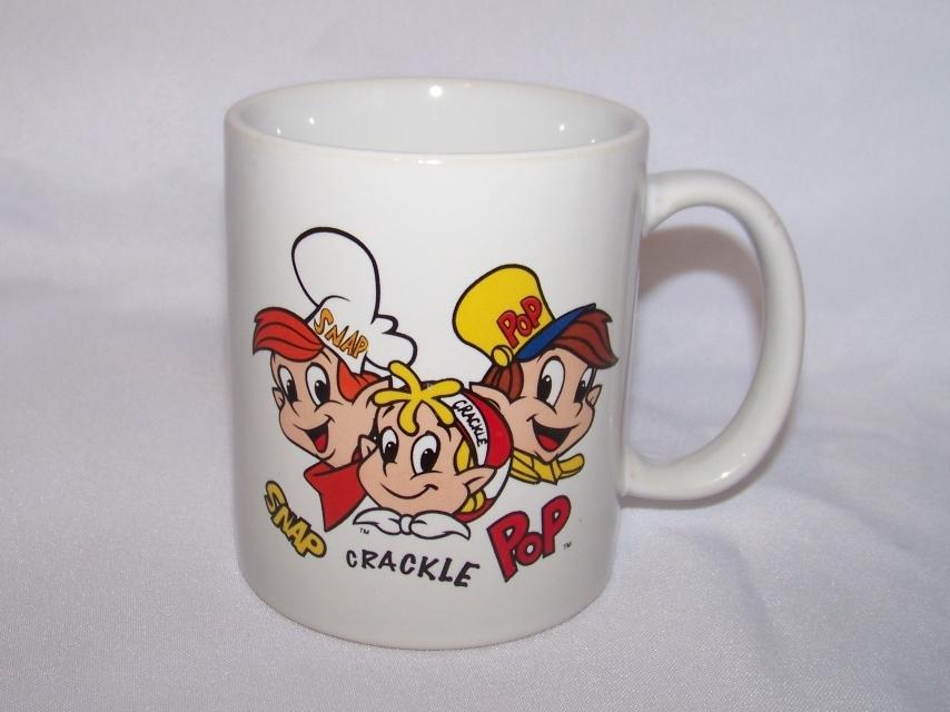 Gift kellogg s rice krispies snap crackle pop mug cup kellogg