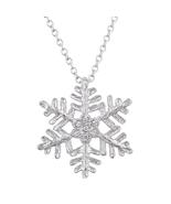 J Goodin Fashion Jewelry Gift Large Snowflake Pendant - $20.00
