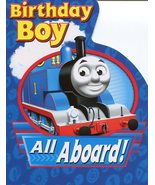 "Greeting Card Birthday Thomas the Tank Engine & Friends ""Birthday Boy Al... - $3.89"