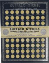 Tribute Edition Buffalo Nickel Coin Board 1913 - 1938 by Whitman Publishing - $7.99