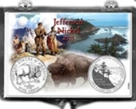 2005 Jefferson/Reverse Design 2X3 Snap Lock Coin Holders, 3 pack - $5.99